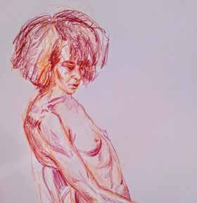 Mary Dudek, Figure Study of Niki