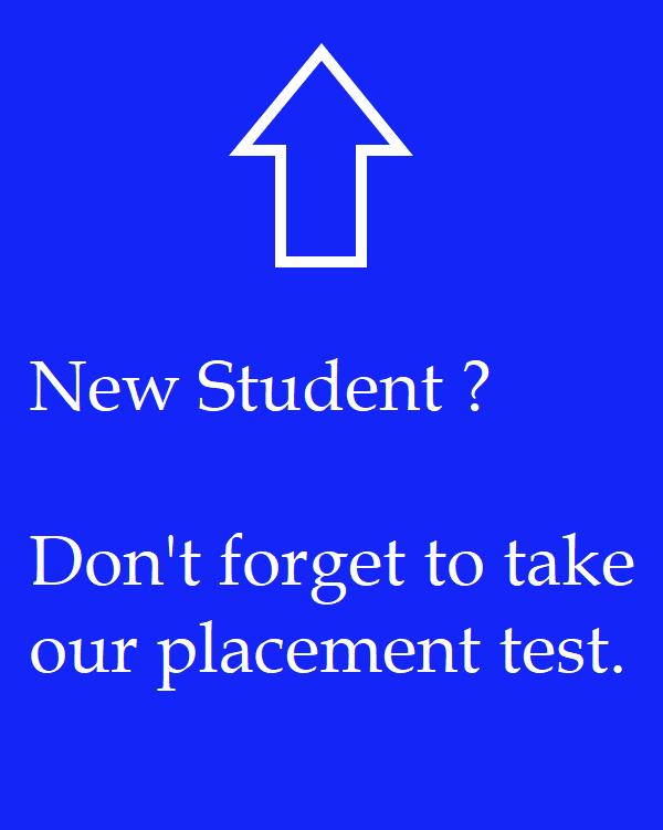 placement de test