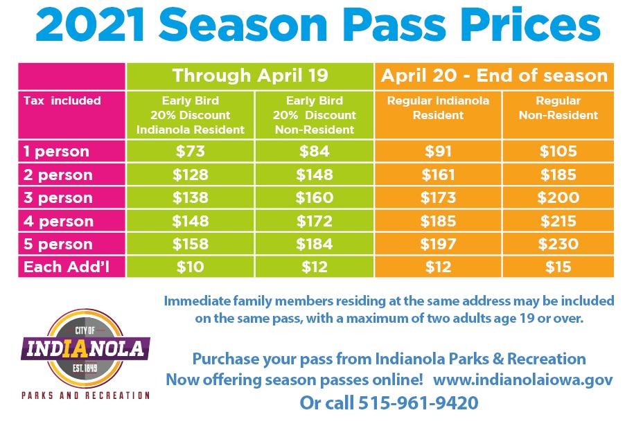 Season Pass Pricing