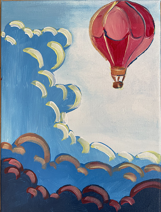 Balloon Ride in the Clouds