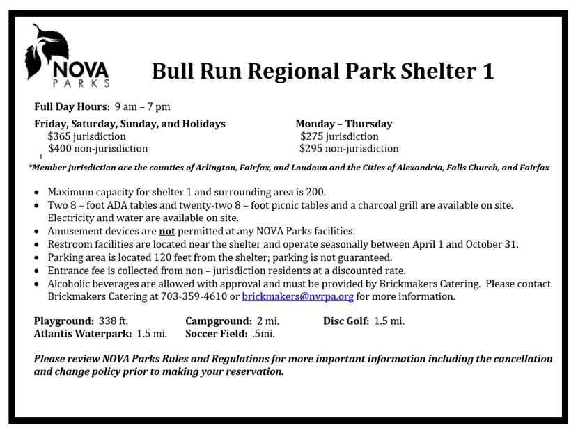 Bull Run Shelter 1 Details