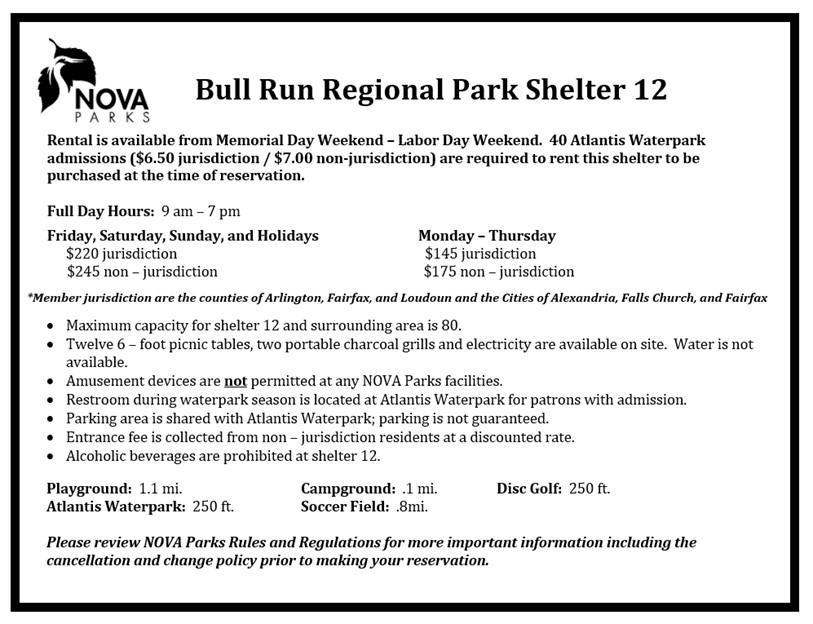 Bull Run Shelter 12