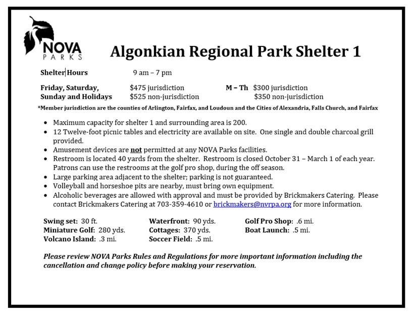 Algonkian Shelter 1 Details