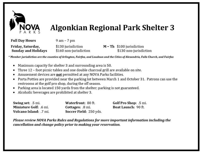 Algonkian Shelter 3 Details