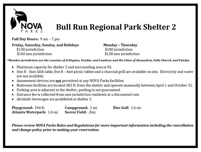 Bull Run Shelter 2 Details