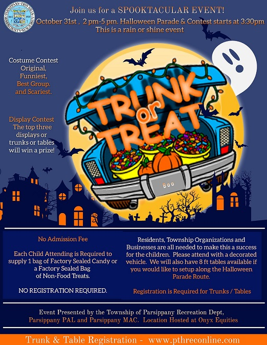 2021 Trunk or Treat Flyer