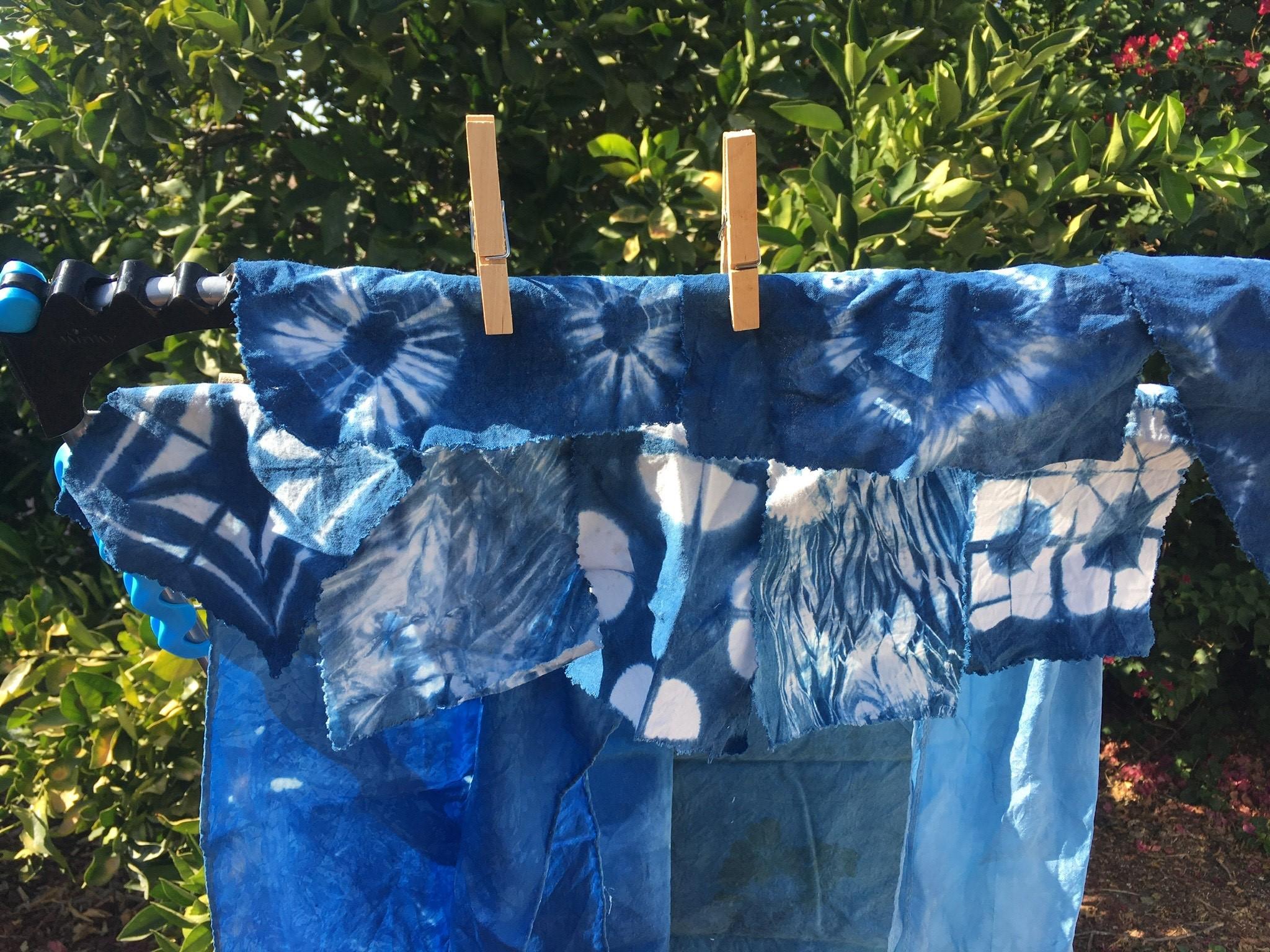 Intro to Shibori-Style Indigo Dyeing