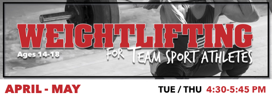 Weightlifting for Team Sport Athletes