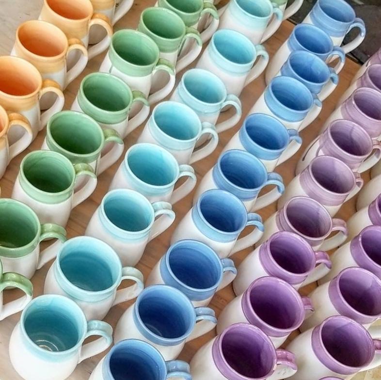 Eva Colorful Mugs