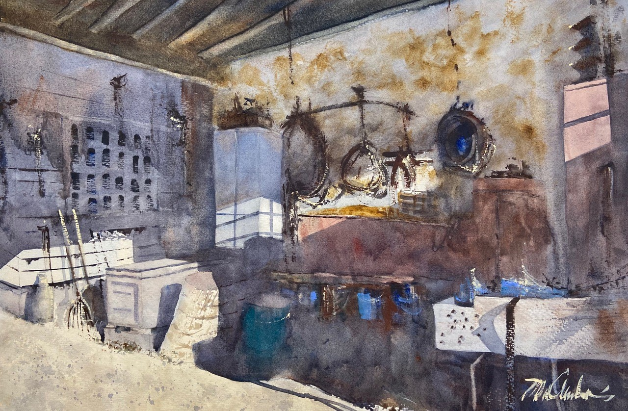 Mick McAndrews Storytelling with Watercolor