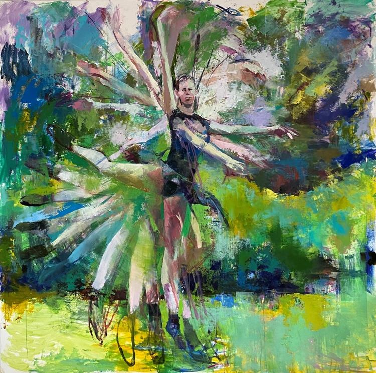 Painting Movement with Lara Cantu-Hertzler