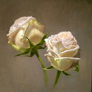 Randall Graham Color Theory Dual Roses