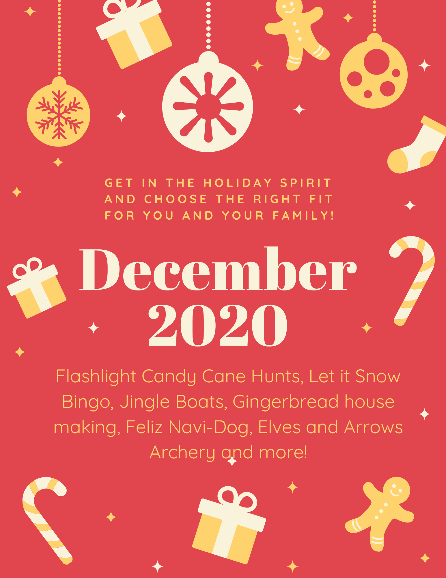holiday Flyer 2020